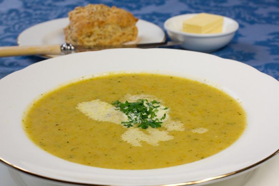 Oatmeal Vegetable Soup