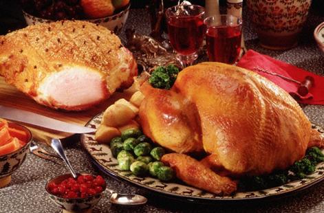 Express Turkey and Ham dinner | Food Ireland Irish Recipes