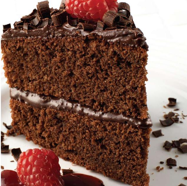 Recipe for a simple chocolate fudge cake