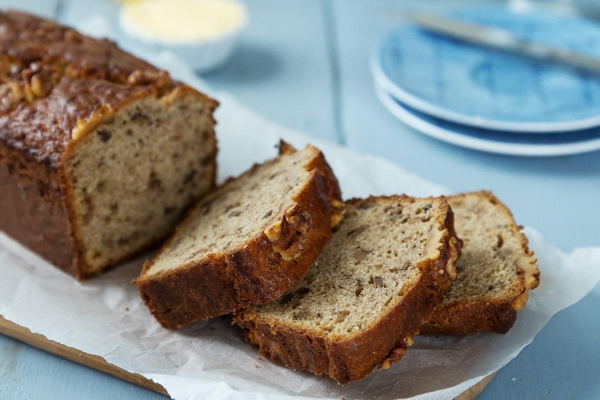 Cream Cheese Banana Nut Bread Recipe