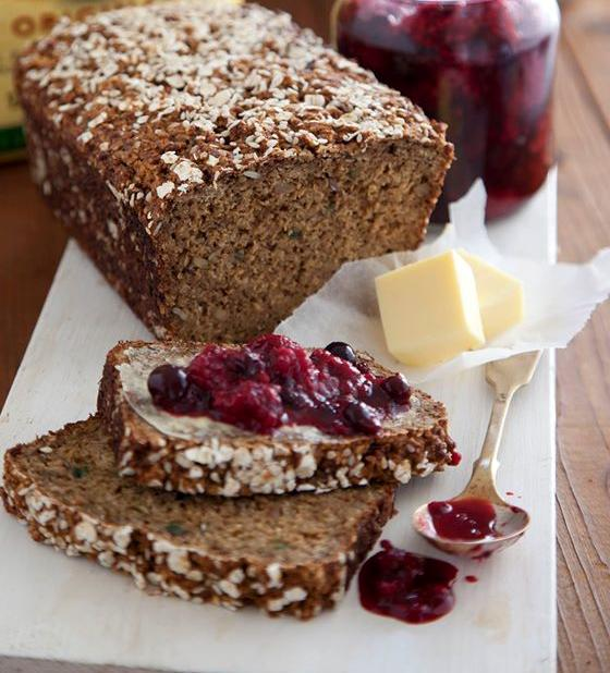 Porridge & Yogurt Bread