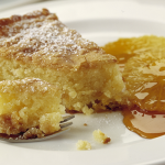 Apricot & Almond Cake with Oranges & Caramel