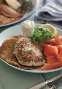 Oatmeal & Potato Pancakes