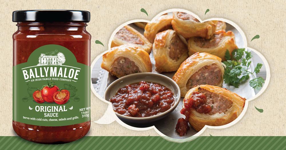 Ballymaloe Sausage Rolls
