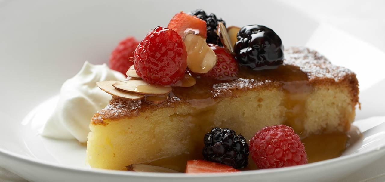 Egg Yolk Sugar Almond Flour Cake
