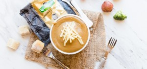 Irish Cheddar and Stout Fondue