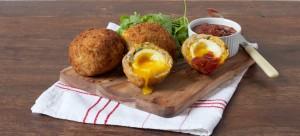 Scotch Eggs with Ballymaloe Relish