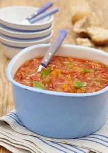 Flahavan's chunky tomato & oat soup