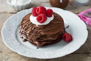 Chocolate Cacao Pancakes