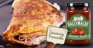 Savoury Pancake with Ballymaloe Relish