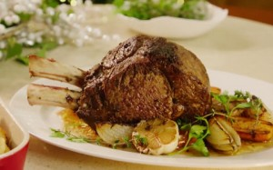 Neven's Rib of Beef with Mustard Crust