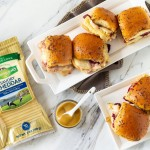 Turkey Cranberry and Cheddar Sliders